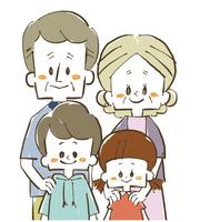 家族-孫と祖父母