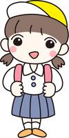 小学校 幼稚園 女の子 ランドセル 一年生 さわやか 制服 可愛い