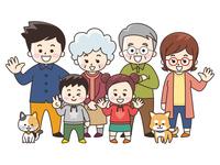 集合する家族 秋