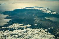 日本列島の空撮(三浦半島)