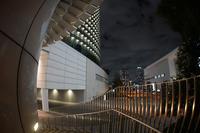 横浜みなとみらいのビル群と夜景