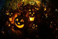 ハロウィンのジャックランタンのイメージ