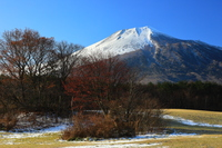 岩手県八幡平市 初冬の焼走り溶岩流