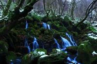 冬の元滝伏流水