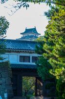 和歌山城と岡口門