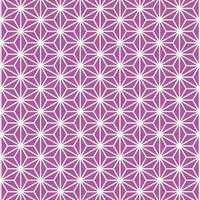 麻の葉 模様 紫