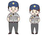 救急隊員の男女