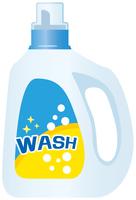 洗濯用洗剤(液体)のイメージイラスト