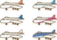 飛行機 カラーバリエーション