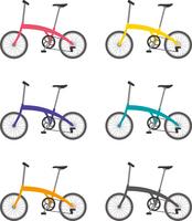 折りたたみ式自転車 カラーバリエーション