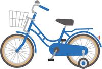 四輪車のイメージイラスト