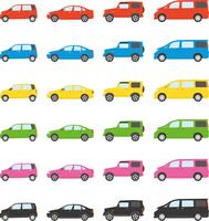 乗用車カラーバリエーション