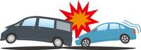 追突事故 乗用車同士1
