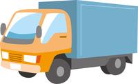 貨物トラックのイメージイラスト