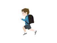 小学生 走る 男の子