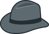 帽子(ハット)のイメージイラスト