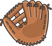 野球のグローブのイメージイラスト