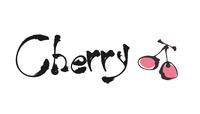 カリグラフィーと筆絵・Cherry