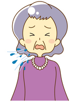 People coughing and sneezing