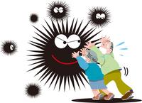 新型ウイルス感染の流行