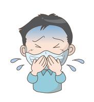 新型コロナウイルス・マナー〈マスク男の子〉