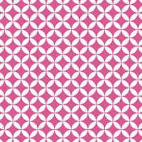 花七宝模様 ピンク