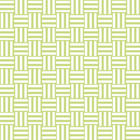 三崩し・網代文様 黄緑