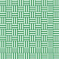 三崩し・網代文様 緑