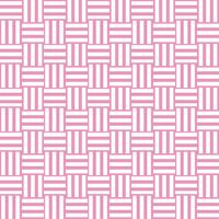 三崩し・網代文様 ピンク