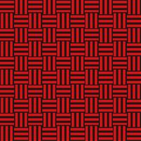 三崩し・網代文様 黒×赤