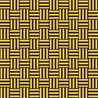 三崩し・網代文様 黒×黄色 2