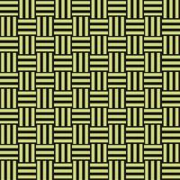 三崩し・網代文様 黒×黄緑