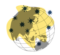 感染症拡大イメージMAP