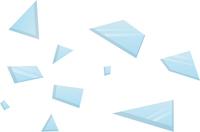 ガラスの破片