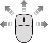 マウスと矢印