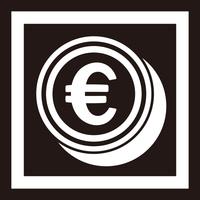 ユーロのコインアイコン
