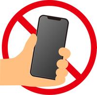 スマートフォン禁止マーク