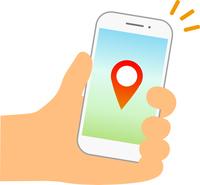 スマートフォンの位置情報