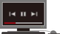 パソコン動画画面