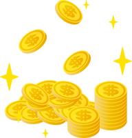 ドルのコイン