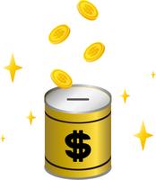 ドルの貯金箱