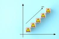 危険度・警戒度の増加イメージ
