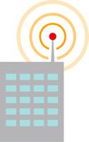 電波を出す建物