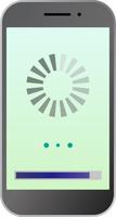 スマートフォンのロード画面