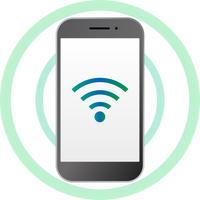 スマートフォンの無線通信