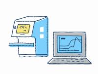 ウイルス検査イメージ 検査機器