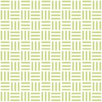 三崩し・網代文様 黄緑 2
