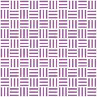 三崩し・網代文様 紫 2