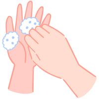 手の洗い方 爪を洗う