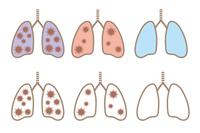 コロナウイルス・肺のアイコン